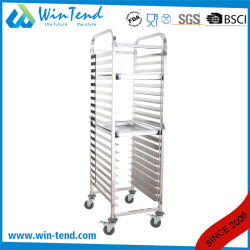 Tall Mobile Movable Bakery Tray Trolley for Baking Pan