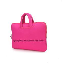 Colourful Waterproof Neoprene Computer Laptop Sleeve Cooler Bag with Handle