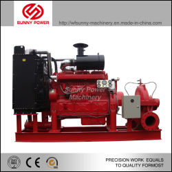 Centrifugal Water Pump for Fire Fighting Outflow 100m3/H Pressure 71psi