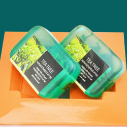Handmade Natural Tea Tree Essential Oil Soap Beauty Soap