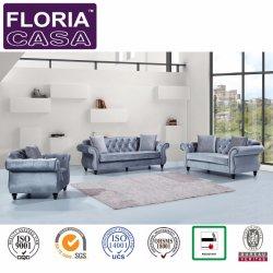 American Design Soft Gray Fabric Sofa