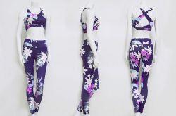 Printing Women Yoga Suit of Sportswear
