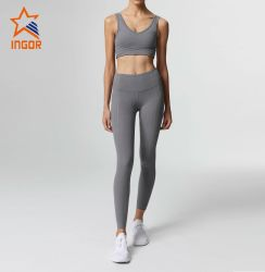 The Most Popular Activewear Custom Design Leggings with Phone Pocket High Breathable Yoga Pants Womens Sports Wear Lifestyle Gym Wear