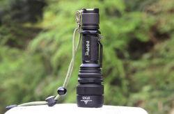 Telescopic Zoom CREE T6 Tactical LED Flashlight (Poppas- S16)