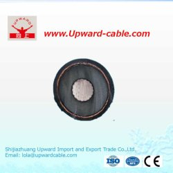 High Voltage XLPE Insulation/PVC Sheath/Copper Electric Power Cable