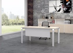 White Customized Metal Steel Office Staff Desk Frame with Ht08-1