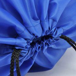 Factory Custom Marathon Sport Polyester Drawstring Bag