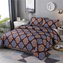 Whole Handmade Indian Patchwork And Printed Quilt Designer Quilted Bedspreads Best Bedding Set