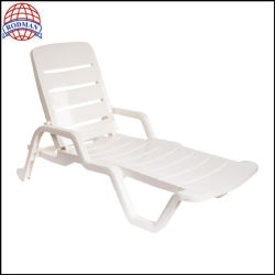 Wholesale Swimming Pool Plastic Chair Beach Chair for Outdoor Furniture