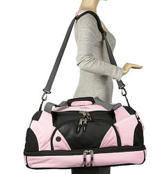 Sports Travel Bag with Shoe Compartment Sh-16032286