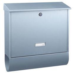 Large A4 Size Metal Mailbox