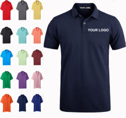 733876ab Custom Sublimation Short Sleeve Dry Fit Polo Shirts, Printing Embroidery  Plain Blank Golf Mens Cotton