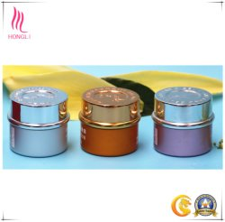 Cosmetic Products Packaging Mini 10ml Cosmetic Jar Circular Pattern Cover