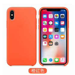 for iPhone Xs Xr X for Apple iPhone 7 8 Official Style Silicone Case