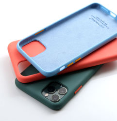 New Liquid Silicone Case Mobile Phone Case OEM/ODM for iPhone Samsung Xiaomi Vivo Huawei
