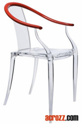 Acrylic Modern Banquet Philippe Starck Furniture Ghost Chair