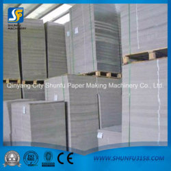 Agricultural Waste Rice Straw Material Cardboard Paperboard Making Machinery