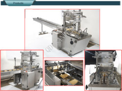 Over Wrapping Type Wafer Biscuit Automatic Packing Machine