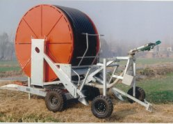 Hose Reel Irrigation Machine Rain Sprinkler Farming Irrigation System