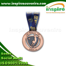 Top Sale Metal Medal for Graduation with Customized Logo, Colorful 3D Sport Medal for Your Event