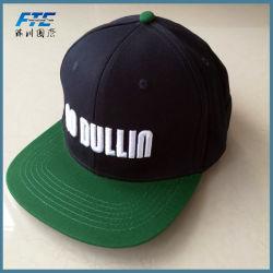 Custom 3D Embrodiery Logo Snapback Cap Flat Brim Snapback Hat
