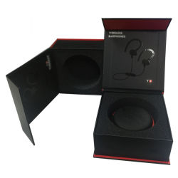 Customized High-End Flip Top Bluetooth Headset Sports Headset Packaging Box