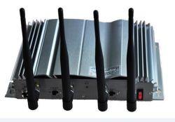 4CH Mobile Signal WiFi VHF UHF, GSM, CDMA, 4G Lte Signal Jammer