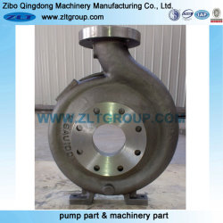 OEM Ductile Iron Sand Casting Pump Casing with 316 CD4 3X4-13