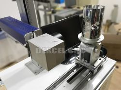 Nwe Breakthrough! 30W CNC Fiber Laser Marking Machine for Vase/ Bottle/Cup with Best Price