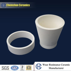 Alumina Ceramic Pipe Cone for Slurry and Ash Piping