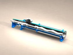 Single Stage Mono Screw Pump Slurry Pump