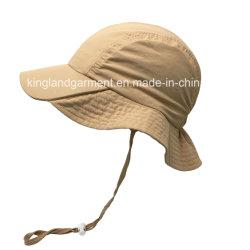 100% Polyester Outdoor Waterproof Light Taslon Beige Bucket Hat 8e6a38e23aaf