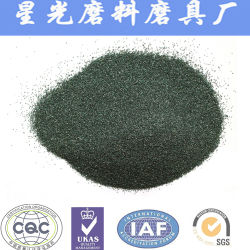 Metallurgical Grade Green Silicon Carbide Sand Manufacturing