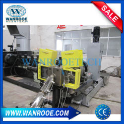 PE PP Film Double Stage Aggregate Granulating Line