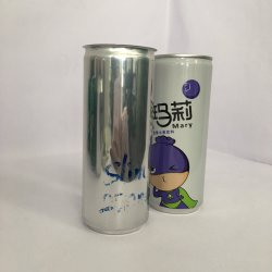 Wholesale Aluminum Beverage Can Empty Wine Can 250ml