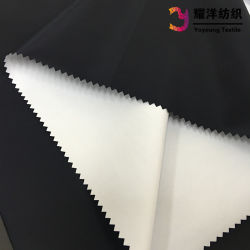 75D Polyester Fake Memory Fabric with Wet Process Coating for Sports Jackets