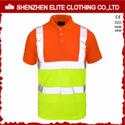 Wholesale Long Sleeve Hi Vis Safety Work Polo Shirts