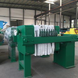 Sludge Treatment Instrument Electrolytic Manganese Slurry Sludge Dewatering System