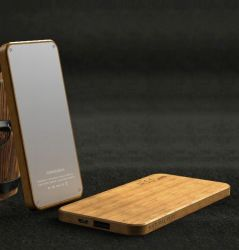 [Kingmaster] (5.81-6.29$) 4000mAh Beech and Walnut Wooden Power Banks Battery Charger Factory Wholesale Power Bank