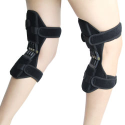 Spring Force Power Knee Support Booster Breathable Joint Support for Sports Hiking Climbing