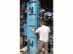 High Yield Radial Tube Extrusion Press