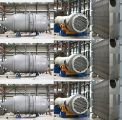Vacuum Evaporation System Multi-Effect Forced Circulation