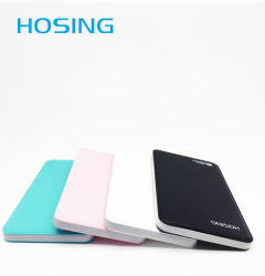 2017 Hot Sale Factory Price Wholesale USB 5000mAh Power Bank for Mobile Phones