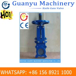 Slurry Knife Gate Valve with Hydraudic Actuator