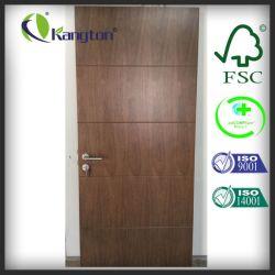 Black Walnut Fire Rated Wood Door, Interior Wooden Door (Interior Door)