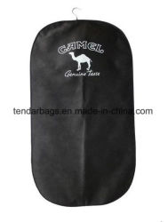 Home Storage Fabric Suit Garment Bag with Name Card Pocket