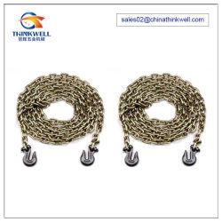 Binder Chain Lashing Tow Chain with Grab Hooks