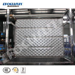 Factory 2tons Plate Ice Machine with Auto Ice Storage