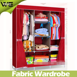 DIY Modern Design Fabric Foldable Wardrobe Bedroom Furniture