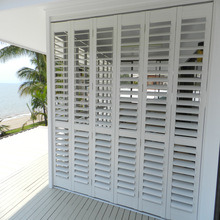 Wholesale Movable Louvers Easy Install Fire Protection Shutter Window